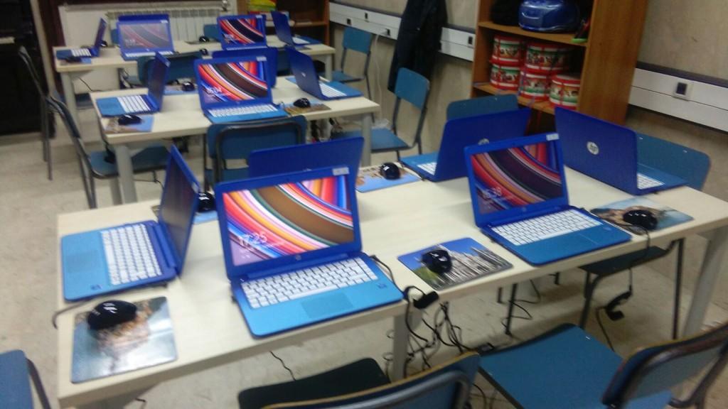 sala d'informatica